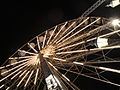 Isle of Wight Festival 2011 ferris wheel at night 2.JPG