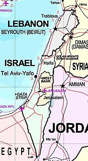 Israeli–Lebanese conflict War between Israeli, Lebanese, Syrian, and other forces in Lebanon since 1948