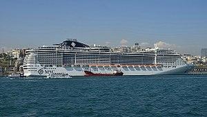 MSC Preziosa - Image: Istanbul Port 3