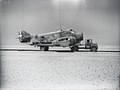 Italian Savoia-Marchetti SM.79 - crashed aircraft on transporter - North Africa? (4872954163).jpg