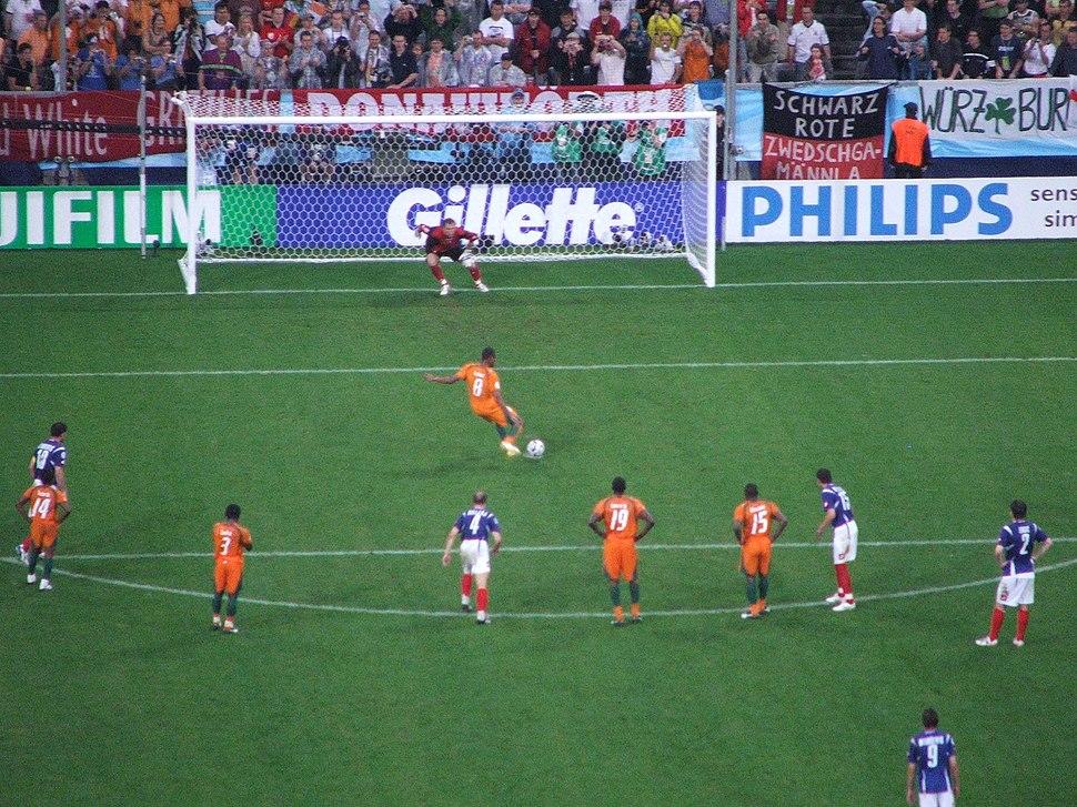 Ivory Coast penalty
