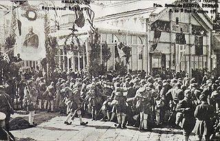 Greek landing at Smyrna