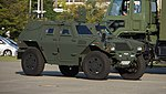 JASDF Light Armored vehicle(45-6120) right front view at Hamamatsu Air Base September 28, 2014 02.jpg