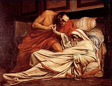 Description de l'image JPaul Laurens The Death of Tiberius.jpg.