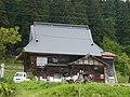 JR飯山線越後田中駅裏付近の民家 - panoramio.jpg