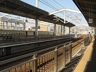 Okayama Station Railway station in Okayama, Japan
