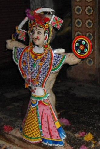 Banepa - It is the statue of Jaaludyo of Banepa.