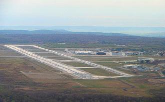 North Bay/Jack Garland Airport - Aerial view of Jack Garland Airport