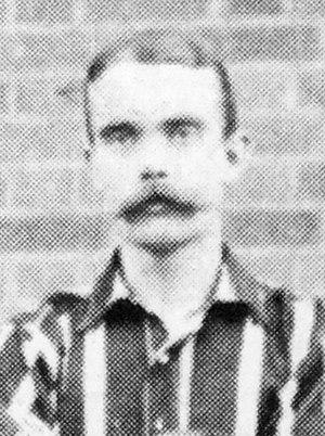 Jack Graham (footballer, born 1873) - Graham while with Brentford in 1901