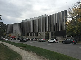 University of Toronto Faculty of Law - Jackman Hall in October 2016