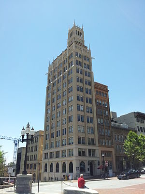 Jackson Building (Asheville, North Carolina) - Jackson Building in Asheville, NC.