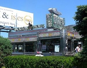 Rebranding - Air Line Diner, partially rebranded as Jackson Hole Diner