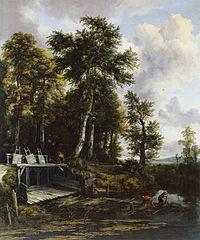 Landscape with a Sluice Gate