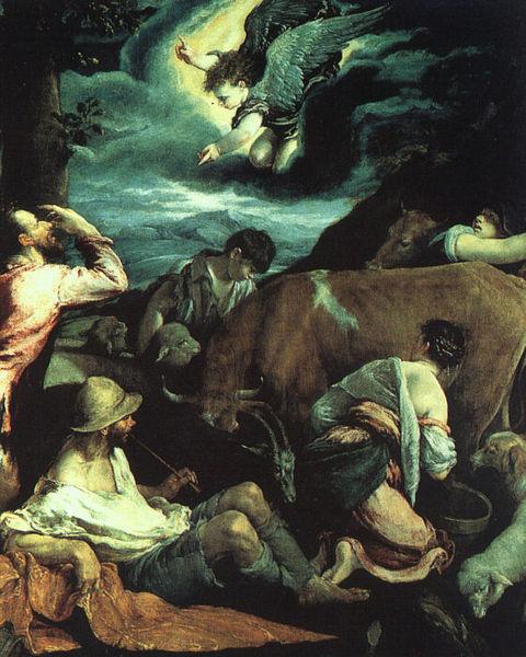 File:Jacopo da Ponte - The Annunciation to the Shepherds - WGA01425.jpg
