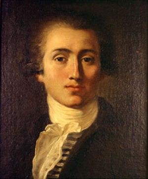 Jacques Réattu - Jacques Réattu, Self portrait, 1785.