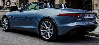 Jaguar F-Type - Jaguar F-Type convertible