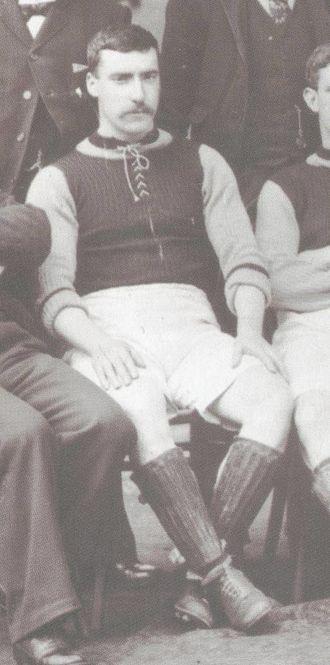 James Cowan (footballer) - Cowan with Aston Villa in 1897.