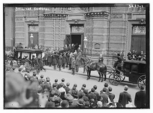 James Edward Sullivan - Funeral on September 19, 1914