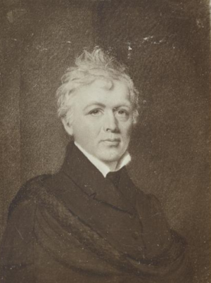 James Frothingham - James Frothingham, portrait by his daughter, Sarah C. Frothingham