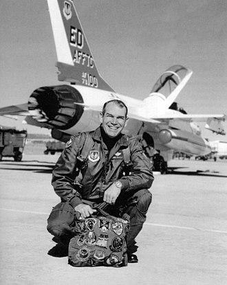 U.S. Air Force Test Pilot School - Image: James H. Doolittle III TPS Commandant 1994 96