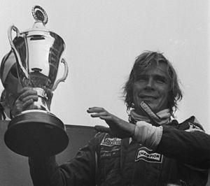 1976 Formula One season - Briton James Hunt won the World Championship of F1 Drivers, driving for McLaren