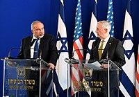 James Mattis with Avigdor Lieberman in Israel 2017 (34176839875).jpg