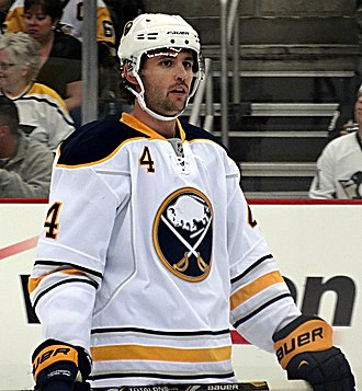 Jamie McBain - With the Buffalo Sabres in 2013
