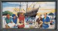 Jan-Joosten-van Lodensteyn-and-William-Adams-with-Ship-Liefde-first-encounter-in-Kyushu-Japan-1600.png