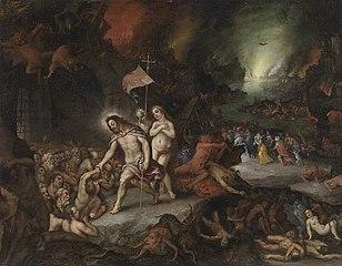 Christus in der Vorhölle (Werkstatt) und Hans Rottenhammer (
