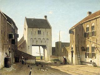 Portail de ville à Leerdam