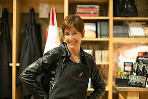 Jane Metcalfe - Metcalfe in 2014 at Culinary Institute in Napa Valley