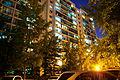 Jangmi Apartment, night view.jpg