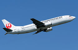 Japan Transocean Air Boeing 737-400 Aoki-1