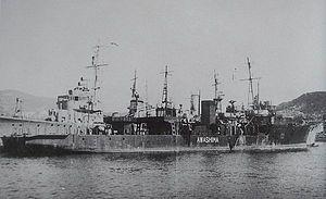 Kamishima-class minelayer - Awashima in 1947