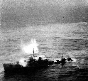 Chidori-class torpedo boat - Tomozuru 24 March 1945