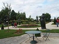 Jardin musée Bourdelle Egreville Paris vue générale.JPG