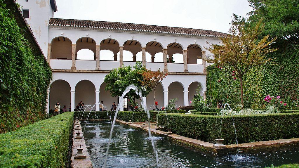 File jardines del generalife granada 36 jpg wikimedia for Jardines generalife