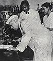 Jawaharlal Nehru at the Penicillin Factory, Pune, 1956.jpg