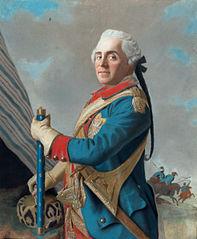portrait de Maurice de Saxe