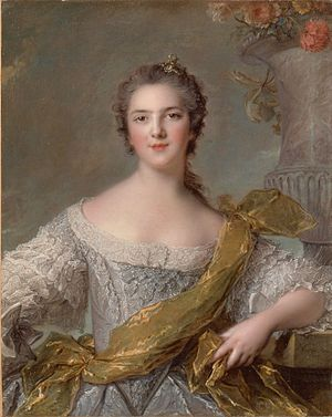 Victoire of France (1733–1799) - Victoire by Jean-Marc Nattier, 1748