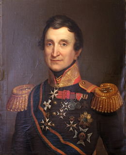 Jean Victor de Constant Rebecque Swiss general in the dutch army