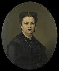 Jeanette Antoinette Pietermaat (1818-70). Echtgenote van Pieter Mijer