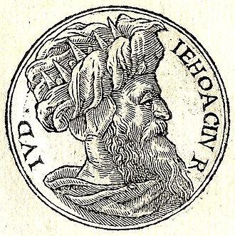 Jeconiah - Jeconiah from Guillaume Rouillé's Promptuarii Iconum Insigniorum, 1553