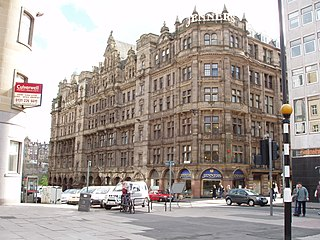 department store located in Edinburgh, Scotland