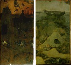 Jheronimus Bosch: Zondvloed en hel