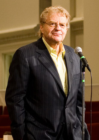 The Jerry Springer Show - Show host Jerry Springer