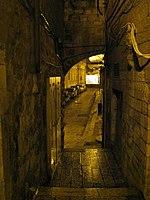Jerusalem Old City At Night (2113244971).jpg