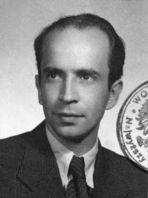 Jerzy Zakulski - Zakulski, nom de guerre 'Czarny Mecenas'