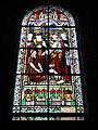 Jeumont (Nord, Fr) Église St.Martin, vitrail 04 Guérison de l'homme à la main dessechée.JPG