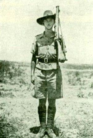 Jewish Settlement Police - Jewish Settlement Policeman 1942